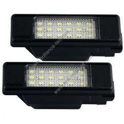 Pack module de Plaque Arrière Led blanc pour Peugeot 207 307 308 406 407 408 508 1007 3008 5008 RCZ Partner Expert