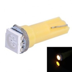 T5 1 LED SMD JAUNE/ORANGE
