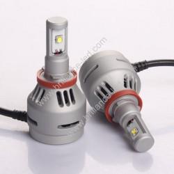 Kit LED H7 Blanc 6000K 2000lm 20W - Nouveauté !!!