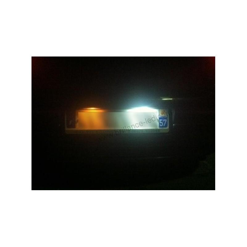 eclairage de plaque pour renault 4 Pack Ampoule LED Plaque du0027immatriculation blanc pour Audi A1