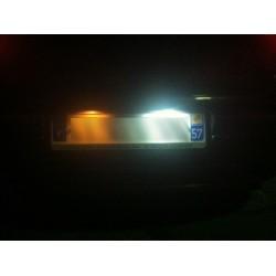 Pack éclairage Led plaque arrière blanc pour Skoda Fabia 2