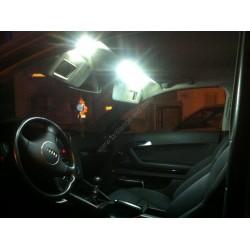 Pack intérieur full led blanc pur pour Audi A3 8L
