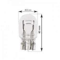 Ampoule T20 à Led culot W21W et W21/5W