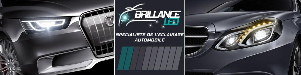 Brillance-led.com --- éclairage auto à LED Logo